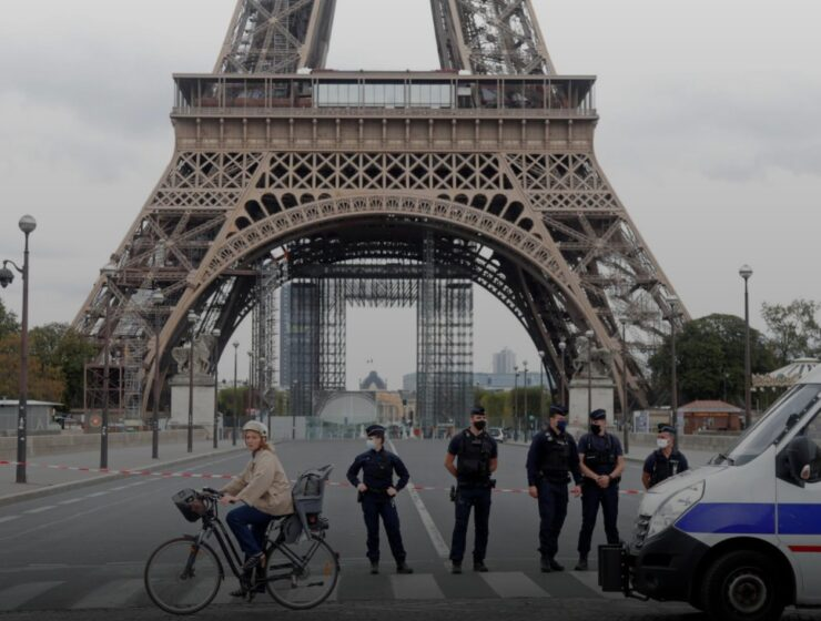 Eiffel Tower evacuated after fear of terrorist attack 5