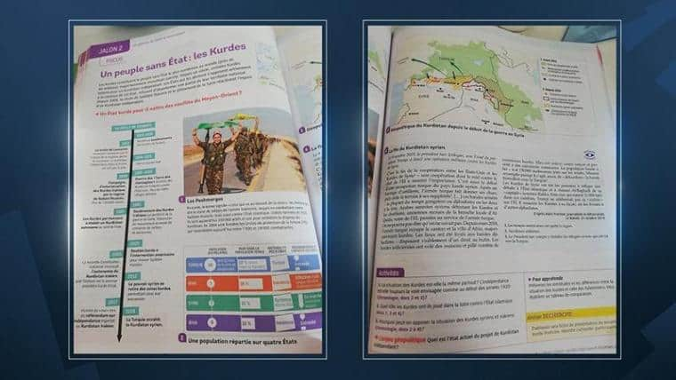 French students begin learning about an independent Kurdistan in history lessons 6