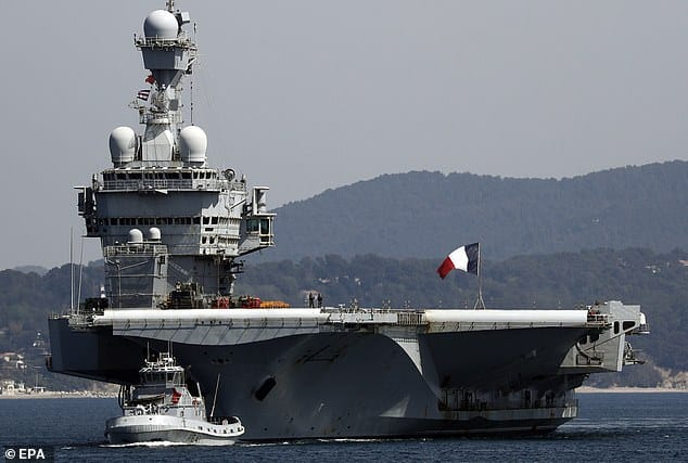 Power balance in the East Mediterranean is changing as France sends nuclear-powered aircraft carrier 1
