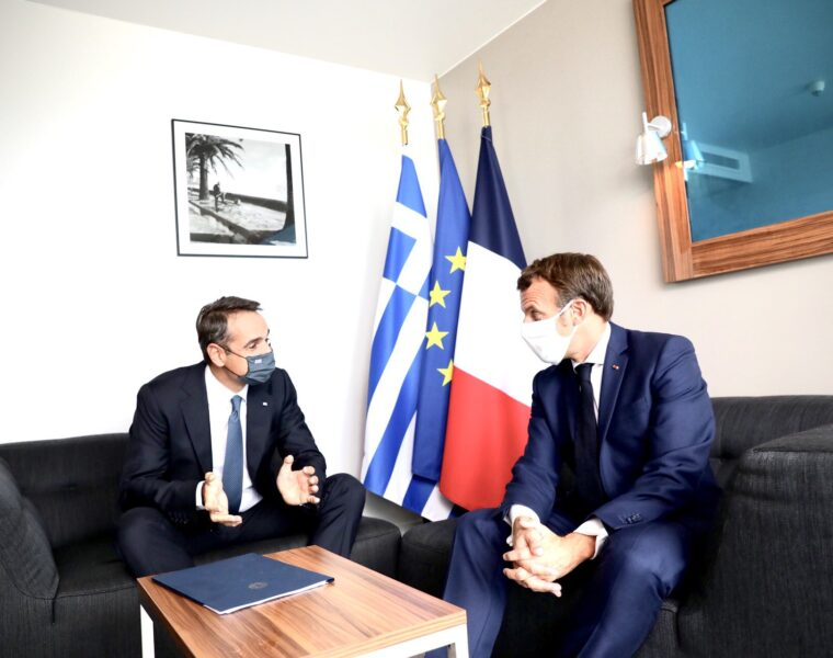 Mitsotakis-Macron meeting concludes after discussions about their Turkey strategy (VIDEO) 2