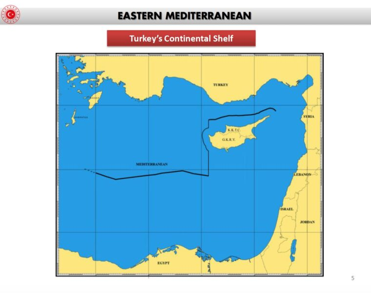 Maps expose how Turkey's historical claims in the East Mediterranean continually become bigger 1
