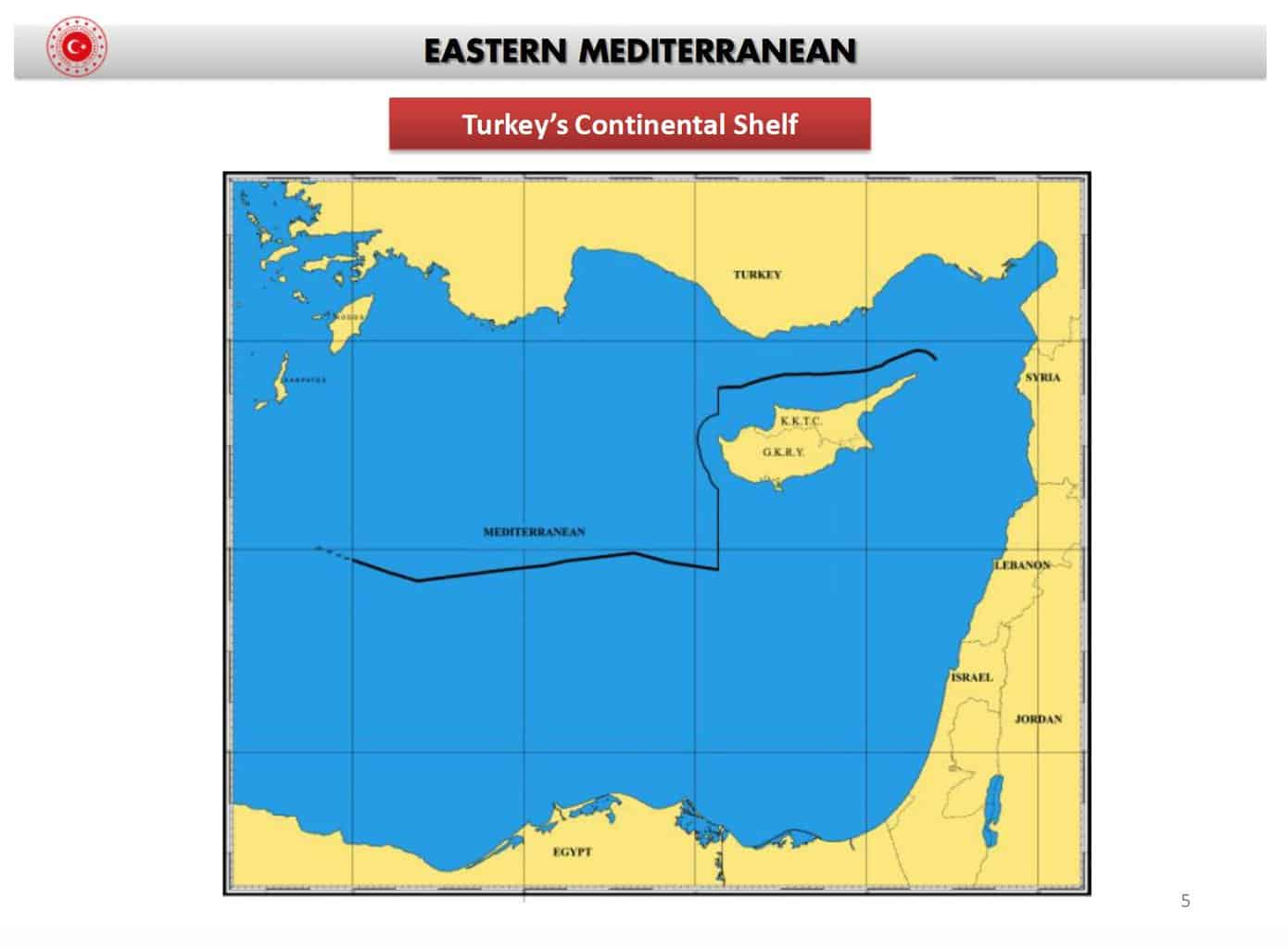 Maps expose how Turkey's historical claims in the East Mediterranean continually become bigger 8