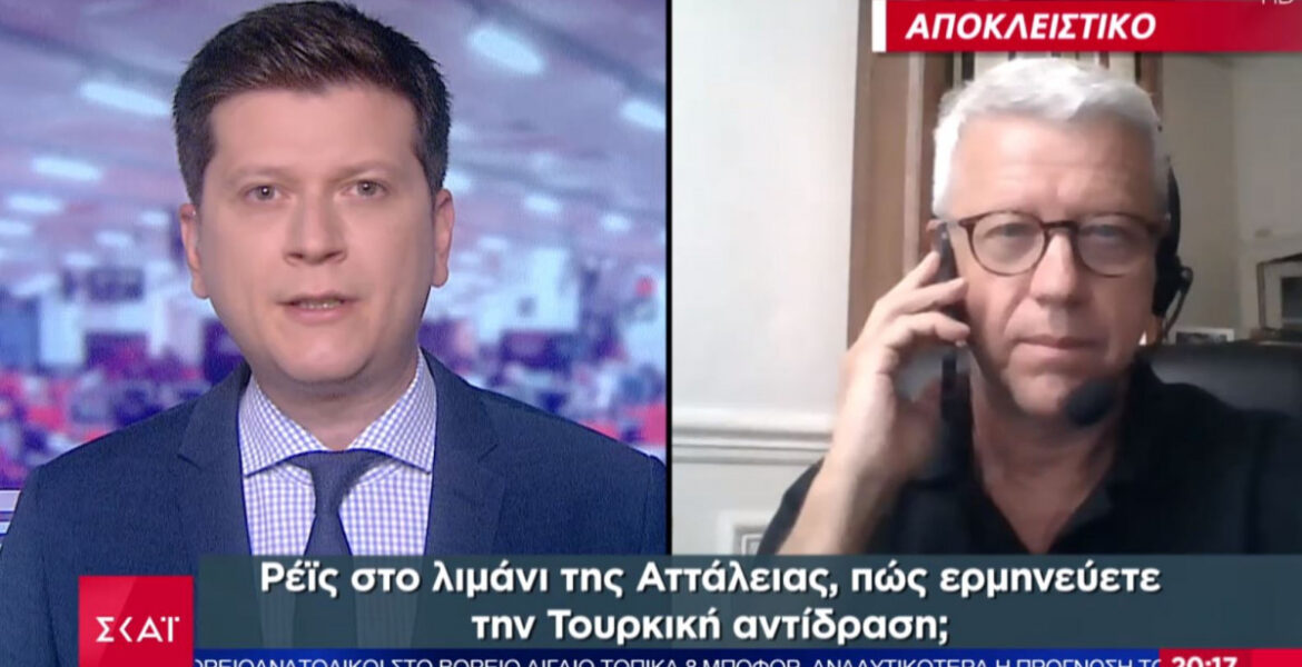 French analyst: It is impossible for France not to intervene in a conflict between Greece and Turkey 1