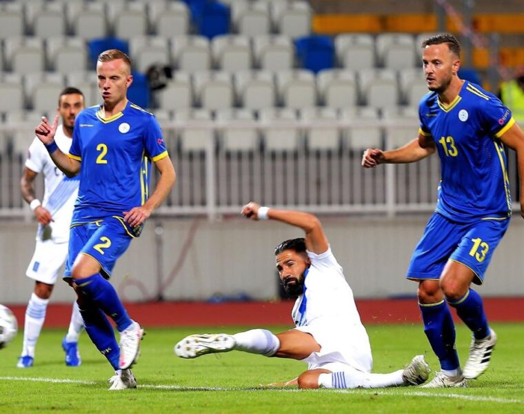 Greece beats Kosovo in Nations League match