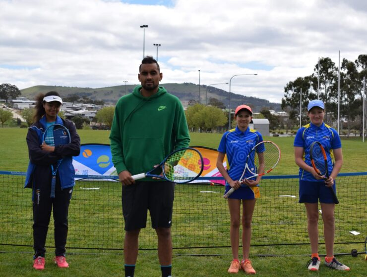 NK Foundation nets grant for new tennis facility in Canberra