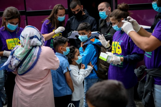 Greece confirms more coronavirus cases at Moria migrant camp