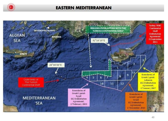 Maps expose how Turkey's historical claims in the East Mediterranean continually become bigger 9