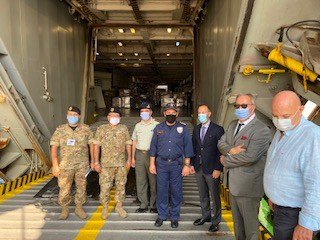 Greece delivers over 180 tons of humanitarian aid to Beirut 3