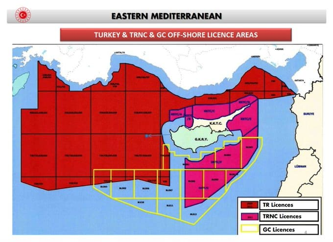 Maps expose how Turkey's historical claims in the East Mediterranean continually become bigger 10