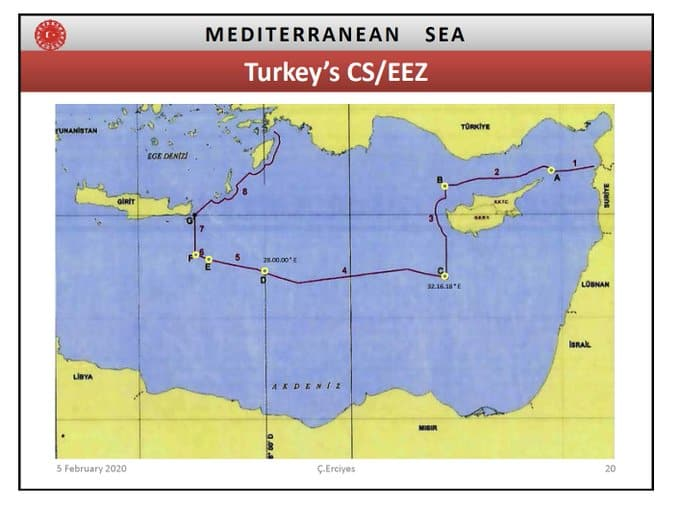 Maps expose how Turkey's historical claims in the East Mediterranean continually become bigger 11