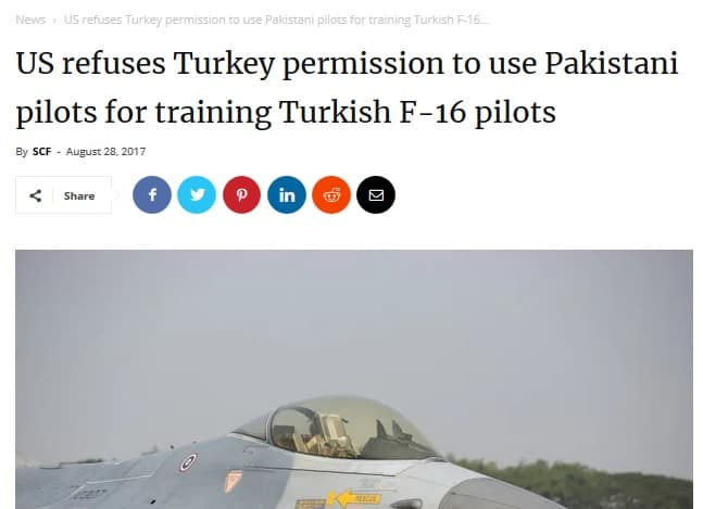 The Pakistani pilots that the Turkish Air Force relies on 13