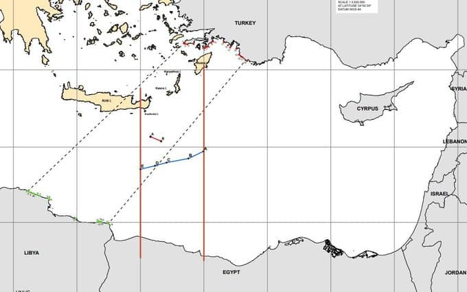 Maps expose how Turkey's historical claims in the East Mediterranean continually become bigger 13