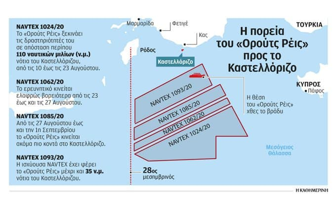 Maps expose how Turkey's historical claims in the East Mediterranean continually become bigger 14