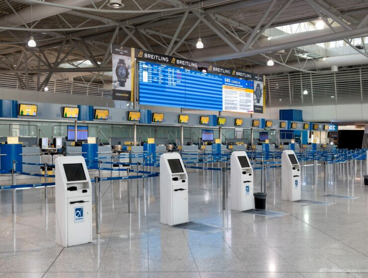 Athens International Airport passenger traffic plunges 60.4% in August