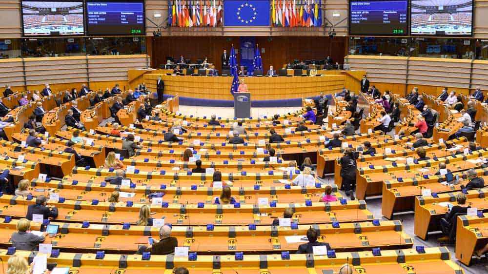 European Parliament: Turkey must immediately end illegal drilling activities