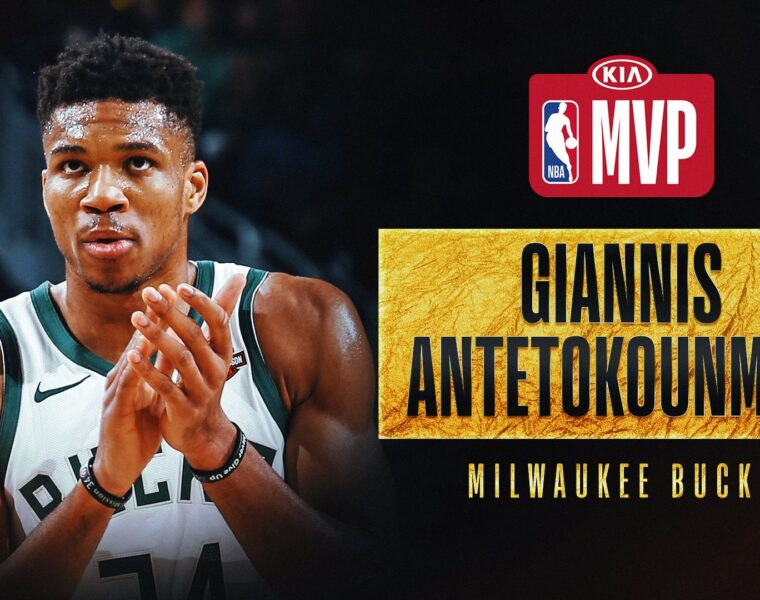 Giannis Antetokounmpo wins second straight NBA MVP award