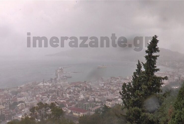 Unusual Mediterranean cyclone 'Ianos' strikes Western Greece