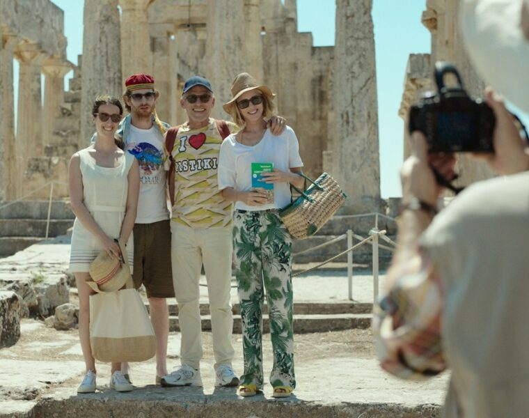 French Film 'On sourit pour la photo' finishes filming in Greece
