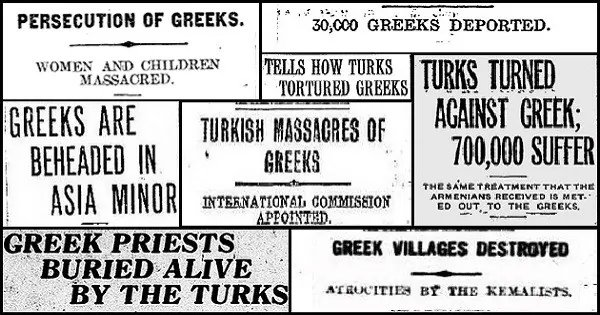 September 14, Commemorating the Genocide of the Greeks of Asia Minor
