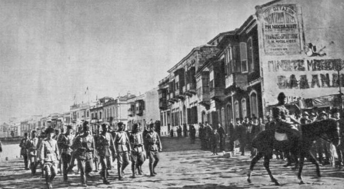 On this day in 1922, Turkish troops invade Smyrna