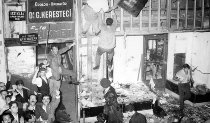 On this day in 1955, The Constantinople riots begin