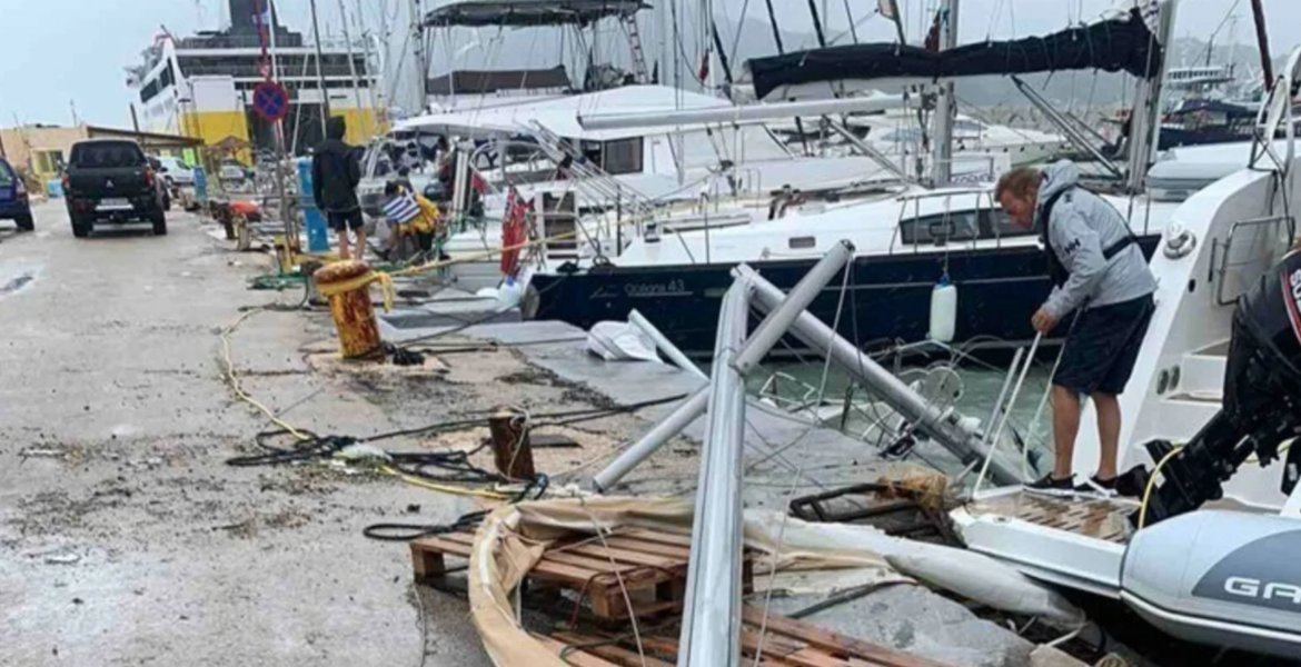 Cyclone Ianos leaves trail of destruction