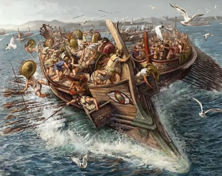 On this day in 480 BC, Greece wins the Battle of Salamis