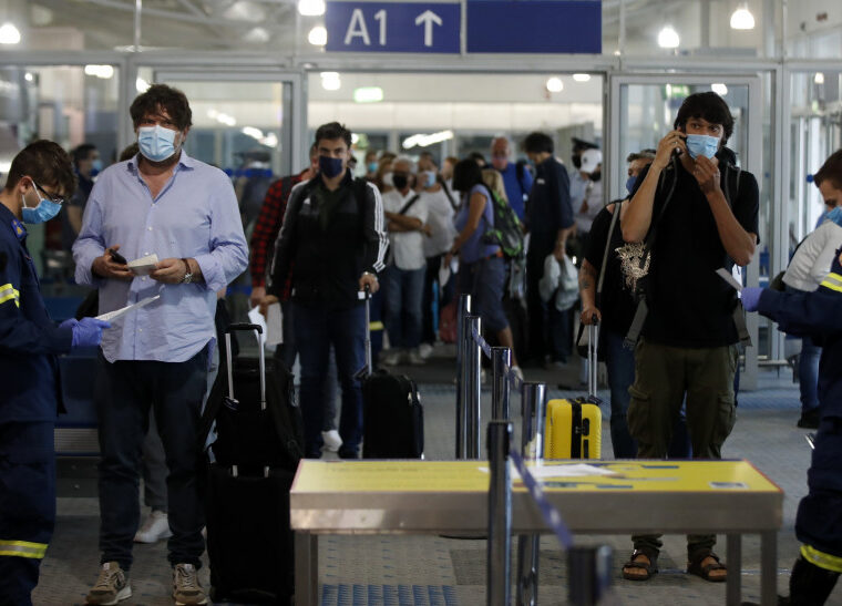 Greece imposes negative covid-19 test result for arrivals from Russia