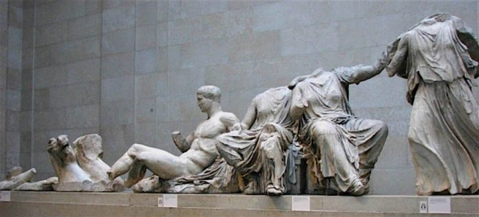 18 members of the U.S. Congress urge Britain to return the Parthenon sculptures to Greece