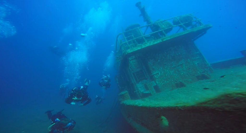 Top 5 Diving Destinations in Greece 2