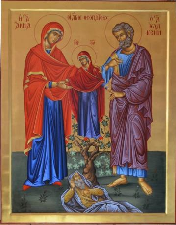 Synaxis of The Holy & Righteous Ancestors of God, Joachim and Anna