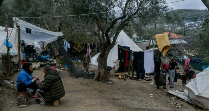 First coronavirus case reported in Moria migrant camp