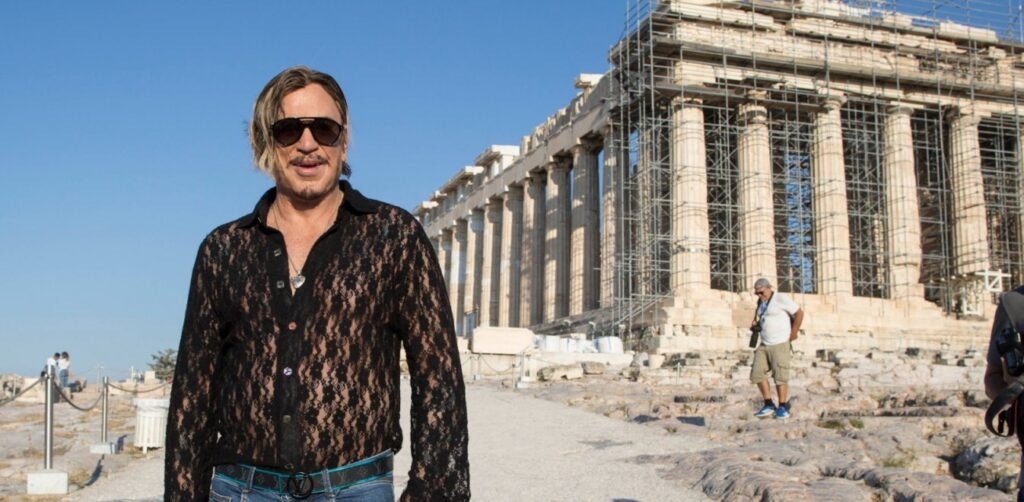 Legendary actor Mickey Rourke finishes shooting 'Man Of God' in Greece