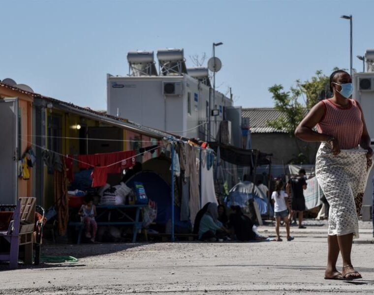 First Covid-19 death reported in Greek migrant camp