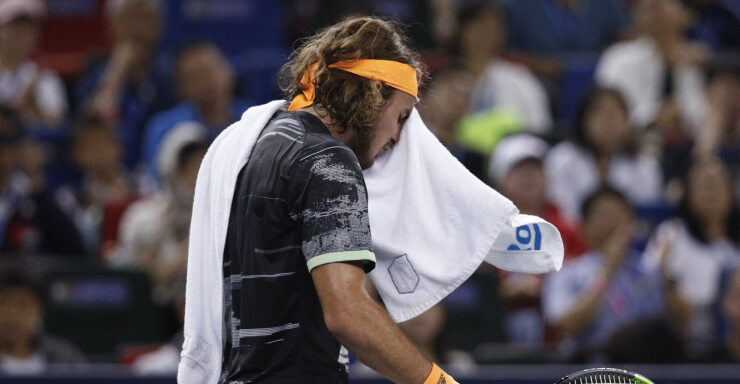 Stefanos Tsitsipas reveals his 'relationship' with his towel