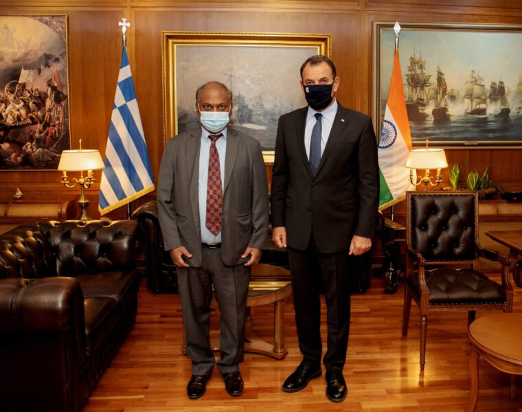 Greece and India agree to boost military ties 1