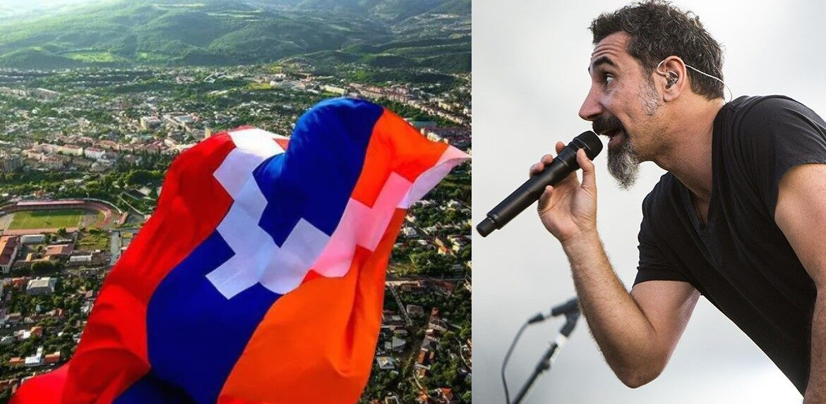 """Serj Tankian of System of a Down to GCT: """"No one has ever conquered Artsakh, they are our Spartans"""" 1"""