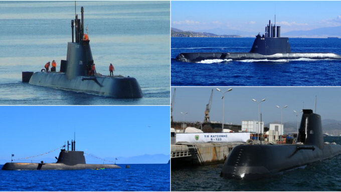 These are the four Greek submarines that Turkey fears 2