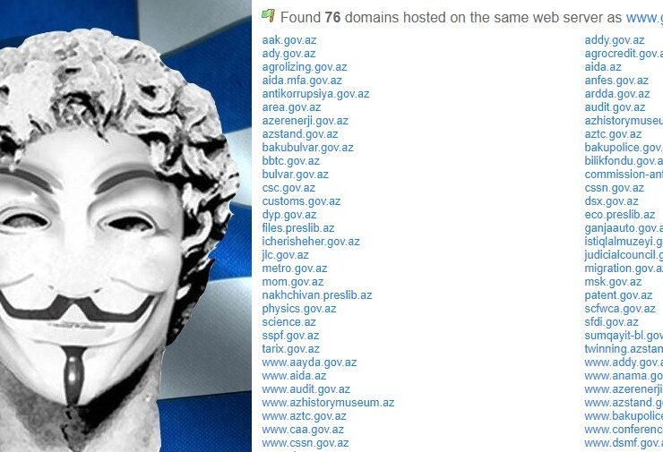 """Greek hackers bring down over 150 Azerbaijani government websites as """"support to the Armenians"""" 3"""