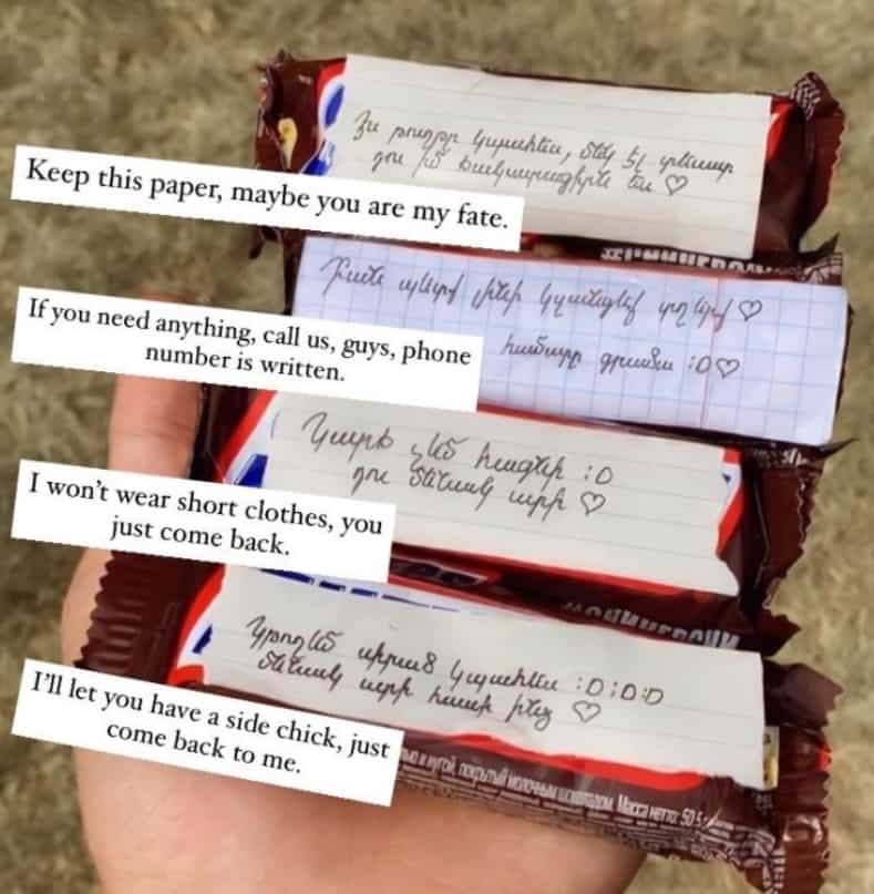 Why are Greeks sending Snickers with messages attached to Armenian soldiers on the front lines? (PHOTOS) 11
