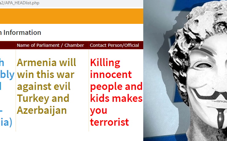 Anonymous Greece hacks into Turkish Parliament website and leaves message in support of Armenia 2
