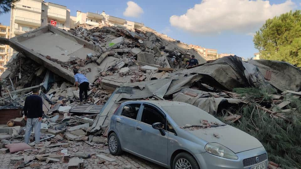 Dendias Offers To Send Rescue Personnel To Helped Trapped People In Smyrni After Earthquake - Greek City Times