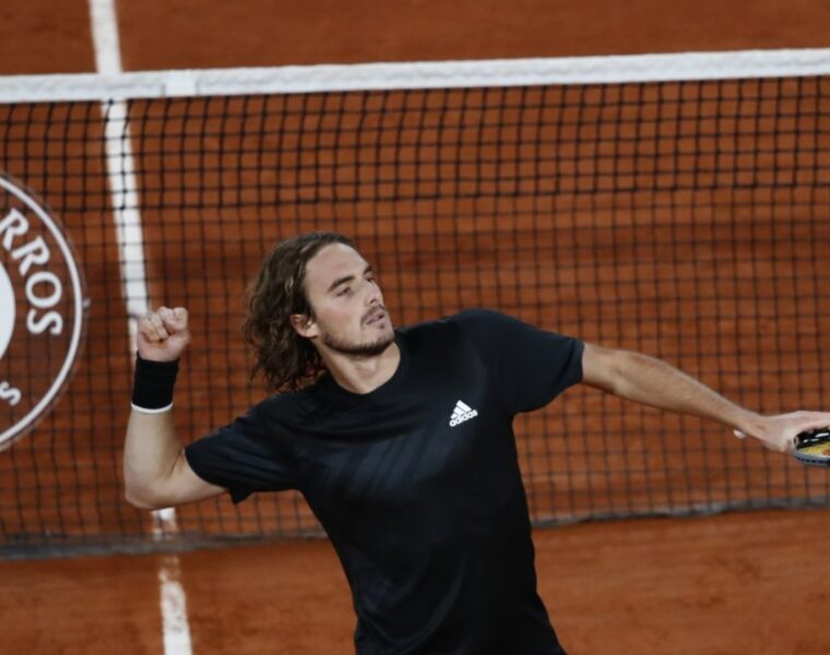 Tsitsipas advances to quarter-final in French Open for the first time 1