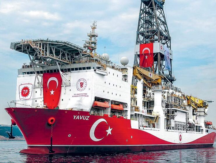 Turkish research ship temporarily ends illegal exploration in Cypriot EEZ for maintenance work 8