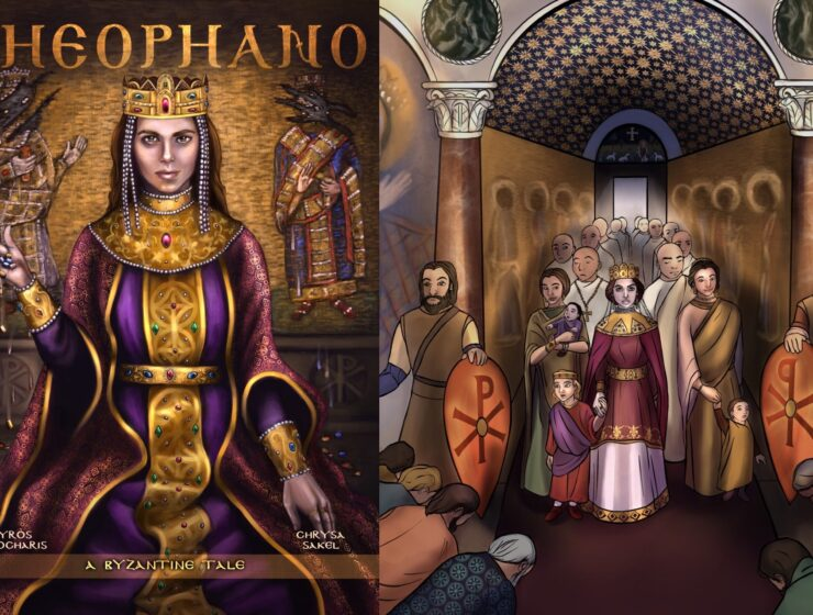 Theophano: A Byzantine Tale, the MUST read comic with the most beautiful illustrations 1