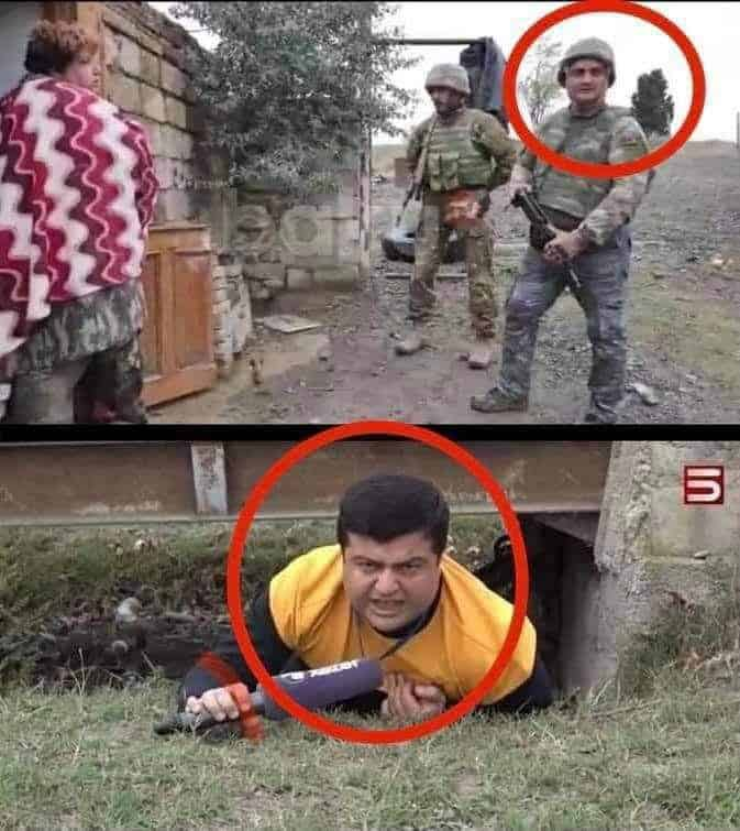 Azerbaijani media & government repeatedly caught making fake news about war against Armenia 2