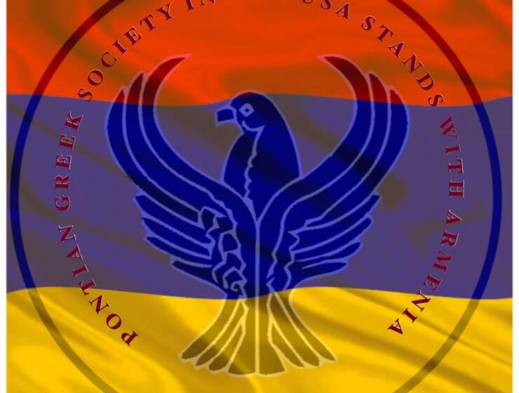 """Pontian-Greek Society in the USA donates $100,000 for """"Armenian brothers"""" 5"""