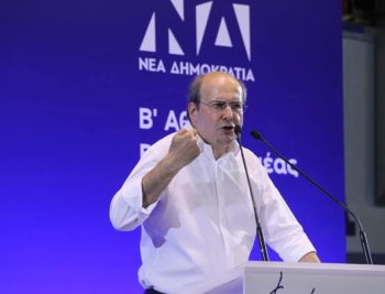 Kostis Hatzidakis speaks out against Turkey