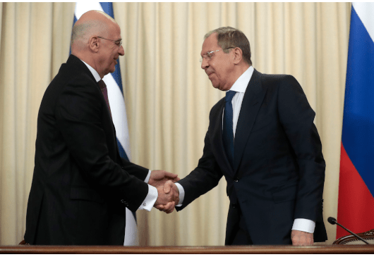 "Lavrov's visit to Athens in late October: The ""tango"" of Greek-Russian relations 1"