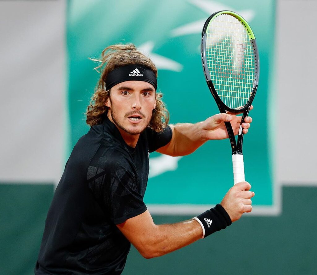 Stefanos Tsitsipas into his 1st French Open semifinal